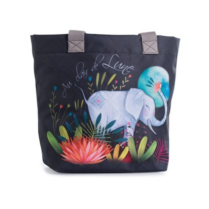 CABAS CLAIR DE LUNE ELEPHANT