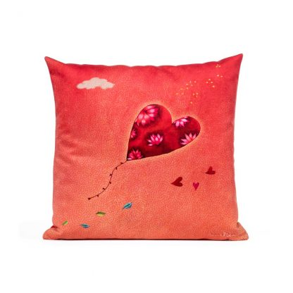 COUSSIN COEUR VERSO
